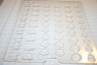 X-tra small assorted flower mold