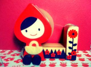 Little red riding hood decole tape dispenser