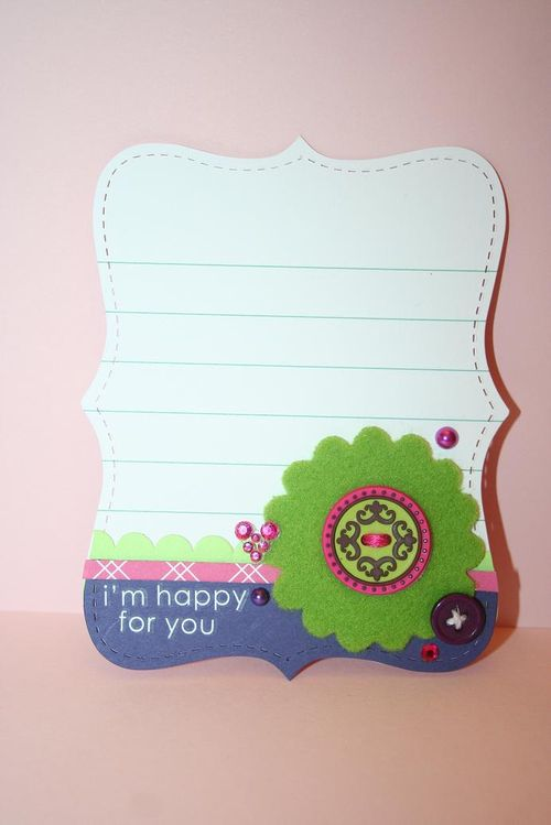 Quick Cards-Happy for you