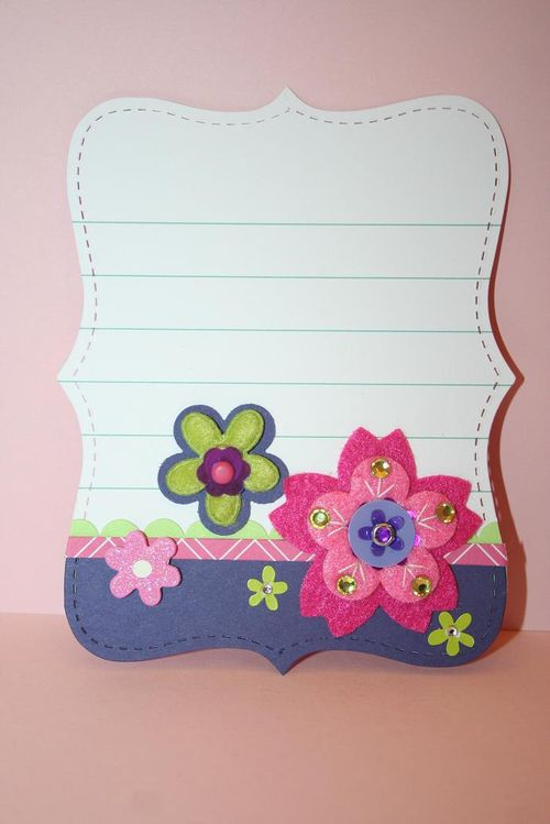 Quick Cards-Flowers