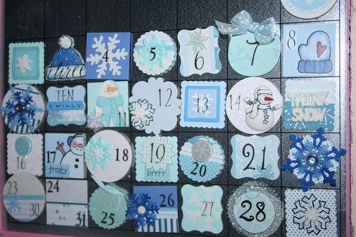 January Calendar details